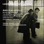 Arnold: Symphony no 6, etc / Handley, LPO