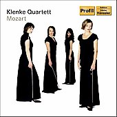 Mozart: String Quartets K 458 & K 428 / Klenke Quartet