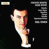 Mompou: Piano Works / Paul Komen