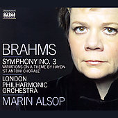 Brahms: Symphony no 3, etc / Marin Alsop, London PO