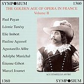 Golden Age of Opera in France Vol 2