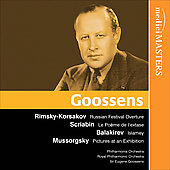 Rimsky-Korsakov, Scriabin, Balakirev, Mussorgsky - Goosens