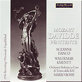 Mozart: Davidde penitente, etc / Rossi, Danco, Kmentt, et al