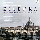 Zelenka: Requiem in C minor, etc / Bowman, Rapson