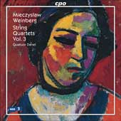 Mieczyslaw Weinberg: String Quartets, Vol. 3