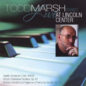 Todd Marsh Live at Lincoln Center