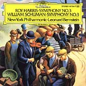 Harris, Schuman: Symphony no 3 / Bernstein, New York PO