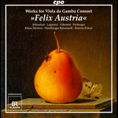 Schmelzer, Legrenzi, Valentini: Works For Viola Da Gamba Consort