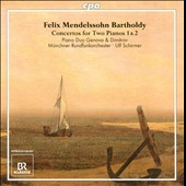 Mendelssohn: Concertos for Two Pianos / Duo Genova & Dimitrov