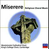 Miserere: Religious Choral Music