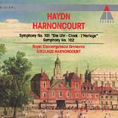 Haydn: Symphony no 101, 102 / Harnoncourt, Concertgebouw