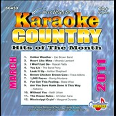 Karaoke: Karaoke: Country Hits of the Month - March 2011