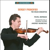 Prokofiev: The Violin Concertos / Berman