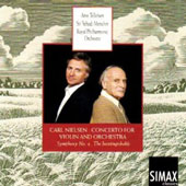 Nielsen: Violin Concerto; Symphony No. 4 The Inextinguishable