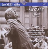 Mozart: Requiem; Ave Verum / Josef Krips