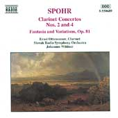Spohr: Clarinet Concertos nos 2 & 4, etc / Ottensamer