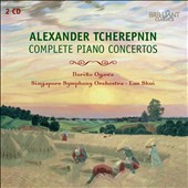 Alexander Tcherepnin: Complete (6) Piano Concertos / Noriko Ogawa, piano