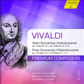 Vivaldi: Famous Concertos for Violin and Flute / Sulamit Haecki, violin; Sylvie Dambrine, flute