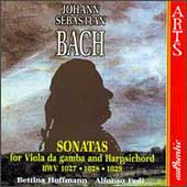 Bach: Sonatas for Viola da Gamba and Harpsichord / Hoffmann