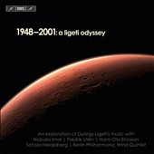 1948-2001: A Ligeti Odyssey - a cross section of Ligeti's music, from his first to his final composistions