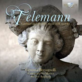 Telemann: Cantatas and Chamber Music with recorder / Gemma Bertagnolli, soprano; Collegium Pro Musica, Bagliano