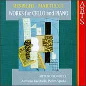 Respighi, Martucci: Works for Cello & Piano / Bonucci, et al