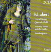 Schubert: Great String Quartets Nos. 12-15