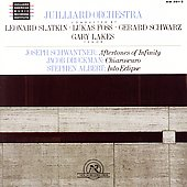 Juilliard Orchestra conducted by Slatkin, Foss, Schwarz