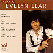 The Art of Evelyn Lear - Spohr, Strauss, Berlioz, Berg
