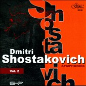 Shostakovich: Symphonies, Vol. 2 / Bulgarian Nat'l Radio SO; Tabakov
