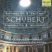 Schubert: Symphonies no 8 & 9 / Mackerras, Scottish CO