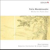 Mendelssohn: Works for Piano Duo - String Octet, Op. 20; Hebrides Overture; Songs without Word, Op. 67/1 / Duo Lontano