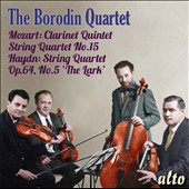 Mozart: Clarinet Quintet; String Quartet No. 15; Haydn: String Quartet Op. 64, No. 5