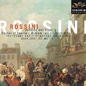 Rossini: Favorite Overtures / Gelmetti, Stuttgart Radio SO