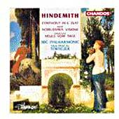 Hindemith: Symphony in E Flat, etc / Tortelier, BBC Phil