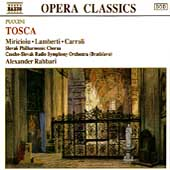 Puccini: Tosca / Rahbari, Miricioiu, Lamberti, Carroli