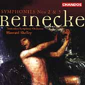 Reinecke: Symphonies no 2 & 3 / Howard Shelley, Tasmanian SO