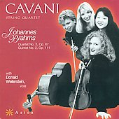 Brahms: Quartets no 2 and 3