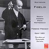 Beethoven: Fidelio / Fricsay, Werth, Anders, Frick, et al