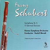 Schubert: Symphony no 5, 17 German Dances /Moralt, Vienna SO