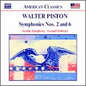 American Classics - Piston: Symphonies no 2 & 6 / Schwarz