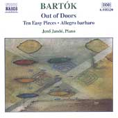 Bartók: Piano Music Vol 3 - Out of Doors, etc / Jénö Jandó