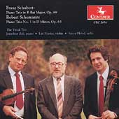 Schubert, Schumann: Piano Trios / Yuval Trio