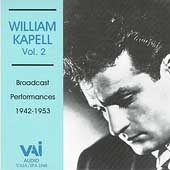 William Kapell Vol 2 - Bach, Mozart, Debussy, Liszt