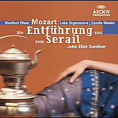 Mozart: Die Entf&#252;hrung aus dem Serail / Gardiner, Minetti