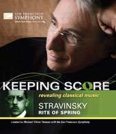 Stravinsky: The Rite of Spring / Michael Tilson Thomas, San Francisco Symphony / [Blu-Ray]