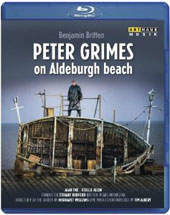 Britten: Peter Grimes (an open-air performance on Aldeburgh beach) / Alan Oke, Giselle Allen, David Kempster [Blu-Ray]