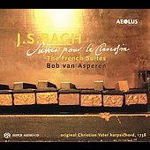 Bach: French Suites / Bob van Asperen