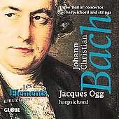 J.C. Bach: Three