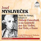 Myslivecek: Music for Strings Vol 1 - Sinfonie Concertanti